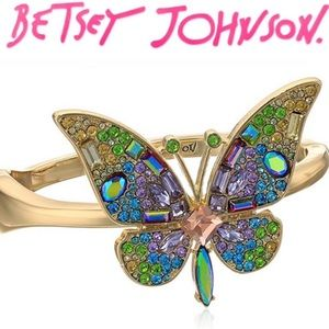 Betsey Johnson Butterfly Bracelet